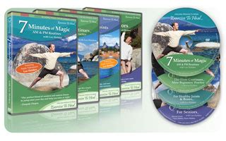 holden 7 minutes of magic dvd qigong dvd 4 pack 2 flow continues seniors joints