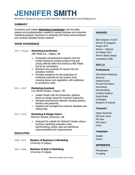 Mid Career Resume by Mid Career Edmonton Resume