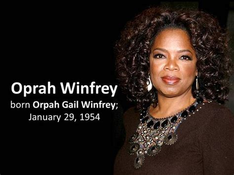 biography of oprah winfrey oprah winfrey biography authorstream