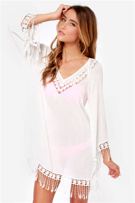 Cover Ups Ivory Dress Ivory Cover Up Swim Cover Up 49 00