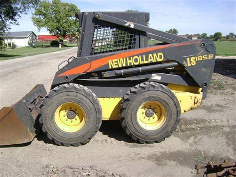 ls185 boat 2005 new holland ls185 b skid steer loader 2500 lift