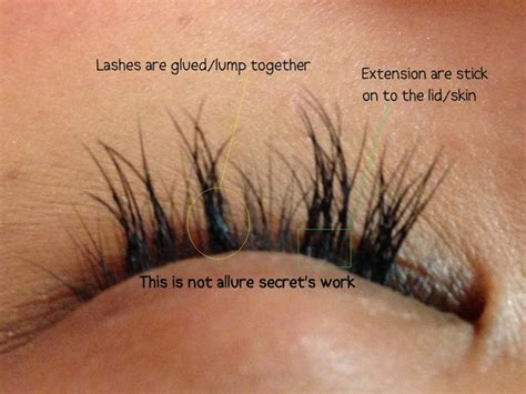 secrets professional eyelash extension in singapore