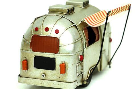 nostalji metal karavan tenteli dekoratif guemues renk