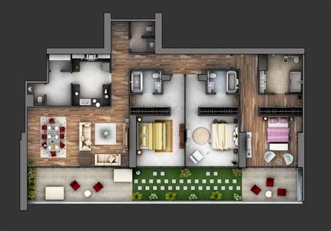 3 bedroom apartments in delaware 50 inspira 231 245 es de plantas de casas para seu projeto