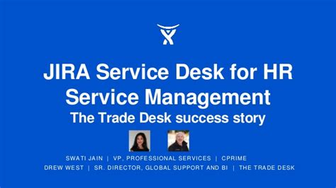The Trade Desk by Jira Service Desk For Hr Service Management The Trade