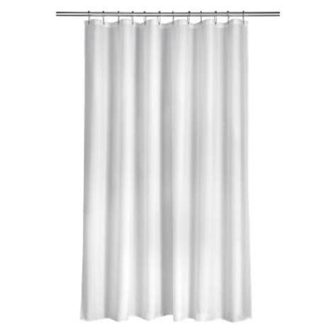 home depot shower curtains croydex shower curtain in plain white ae100022yw the