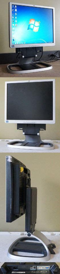 Monitor Lcd 300 Ribuan hp 1740 silver black 17 quot 5ms lcd monitor 300 cd m2 500 1