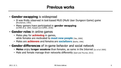 thesis defense script ms thesis defense gender swapping and its effects in mmorpgs