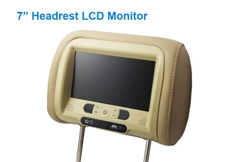Lcd Monitor Headrest 7 inch tft headrest lcd monitor j well industrial co ltd