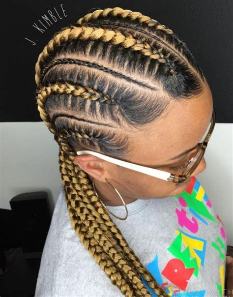 Black Colored Hairstyles by 3 Colored Braided Hairstyles For Black New