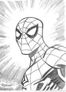 spider man sketch by lostonwallace on deviantart