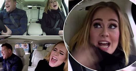 james corden and adele relationship watch adele hit the high notes with james corden during