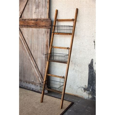 Small Bath maximize space in a small bath with this rustic ladder