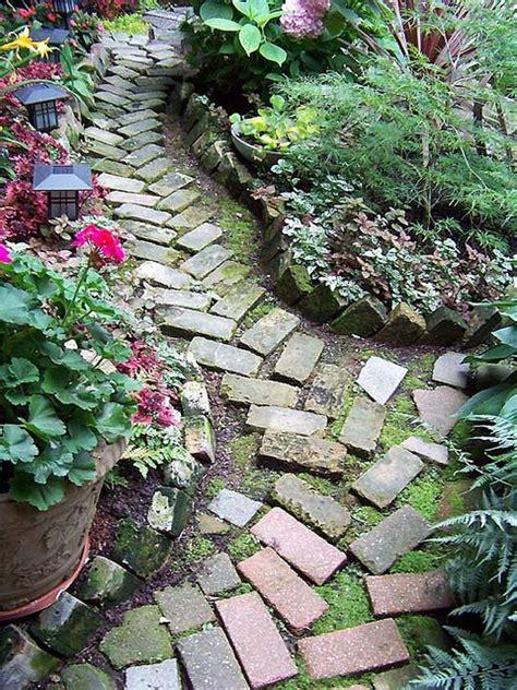 brick garden path chicago