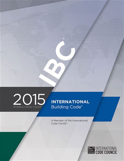 international building code 2015 international building code soft cover
