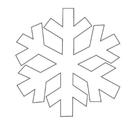 printable snowflakes template printable snowflake templates to get you through any snow