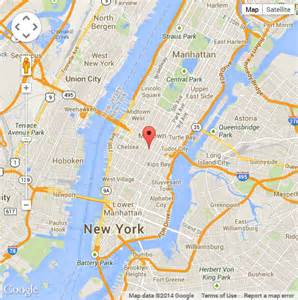 New York Google Map by New York Map Empire State Building