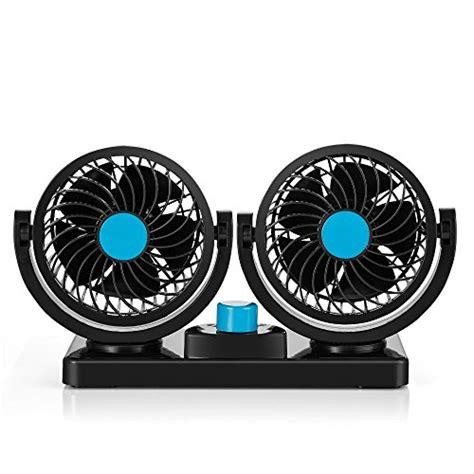 fan that blows cool air abovetek 174 dual head car auto air fan quickly