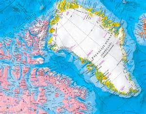 map of canada and greenland physical map of canada united states and greenland