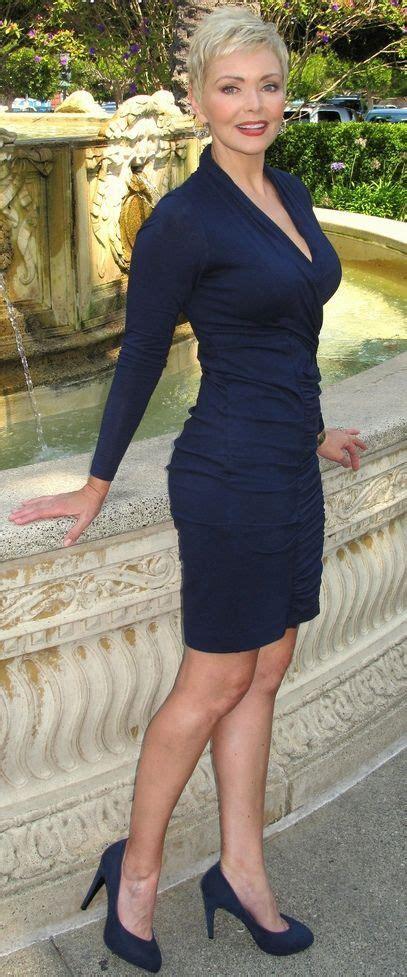Elderly Women Dresses And Heels | via navy blue dress and navy blue high heels dream