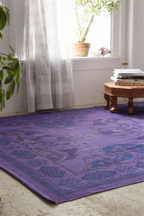 Outfitters Floral Rug by Plum Bow Anatolian Overdyed Printed Rug