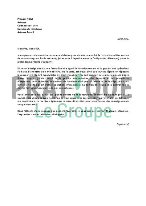 Exemple Lettre De Motivation Juriste Droit Social cover letter exle lettre de motivation gratuite juriste