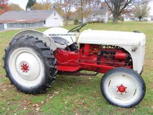 1950 ford 8n tractor with