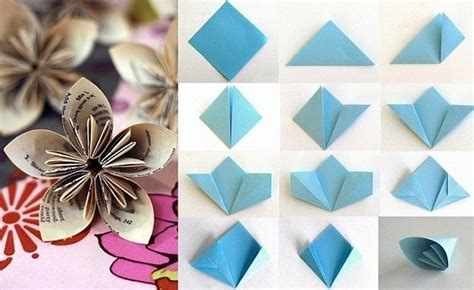 Flower Origami Tutorial - tutorial origami paper flowers flowers