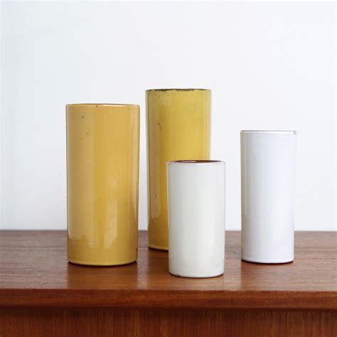 Ceramic Cylinder Vase by City Furniture 4 Ceramic Decorative Cylinder Vases