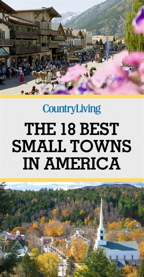 best small town in america 18 best small towns in america prettiest small towns in