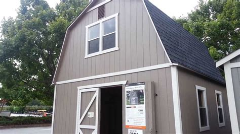 log cabins home depot home depot  story barn shed