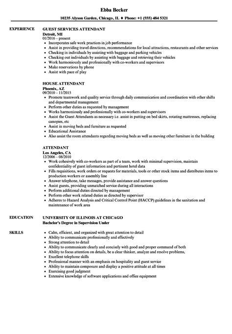 sle resume for housekeeping in hotel beverage cart attendant resume the best cart in word