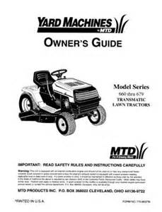 download mtd yard machines manuals diigo groups