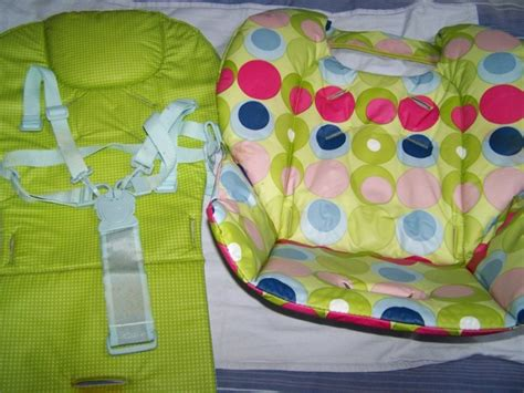 Chicco High Chair Cover by Used Spare Coverharness For Chicco Polly Highchair For