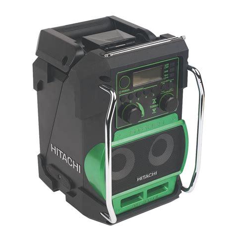 new hitachi ur18dsl radio mp3 player mobile charger bare ebay