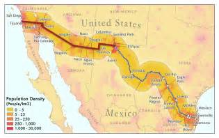 Mexico Usa Border Map by 16 Climate Change And U S Mexico Border Communities Swccar