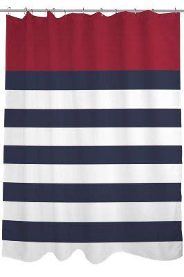 Nautical Striped Curtains Decor Bentin Home D 233 Cor Nautical Stripes Shower Curtain 71 By 74 Inch Navy White Home