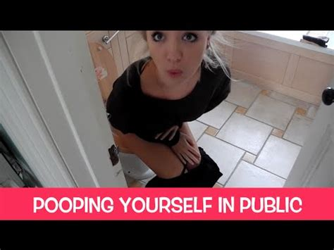 how to poop in a public bathroom pooping yourself in public youtube