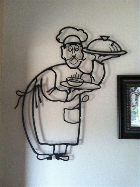 Chef Wall Decor metal chef wall decor chef