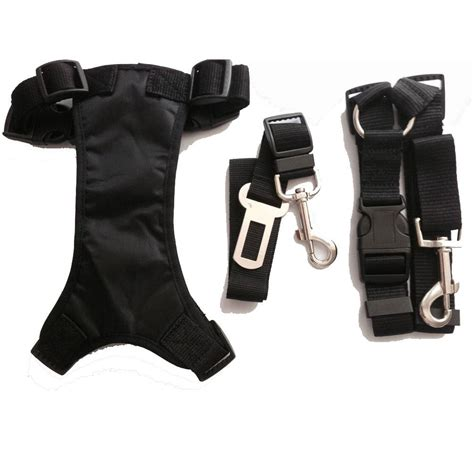 Harness With Belt harness leash seat belt combocanine care products