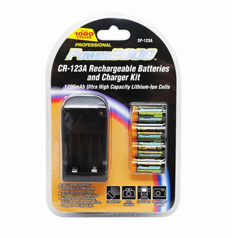 cr123 charger 4 pcs rechargeable cr123a 3 7v batteries li ion cr123