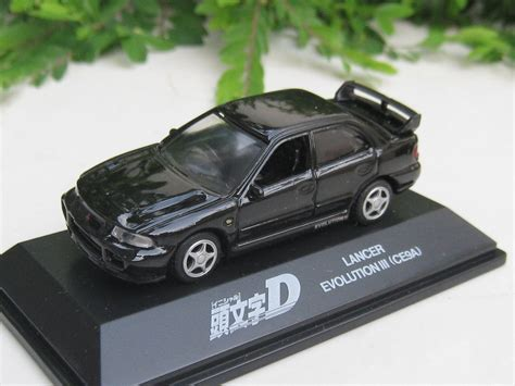 mitsubishi lancer evo 3 initial d yodel 1 72 diecast car model initial d mitsubishi lancer