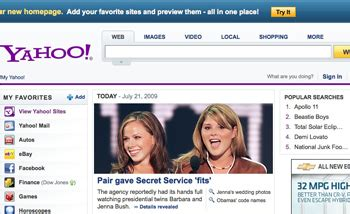 yahoo home page gets a new look pcworld