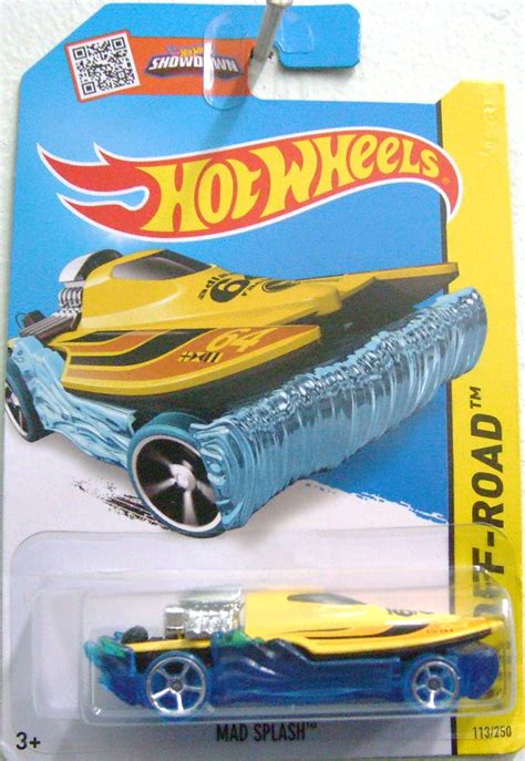 Wheels Hotwheels Mad Splash Yellow Th image mad splash th 2015 jpg wheels wiki fandom