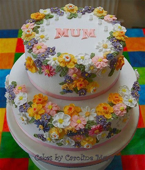 Flower Garden Cake S Birthday Flower Garden Birthday Cake 1 Flickr Photo