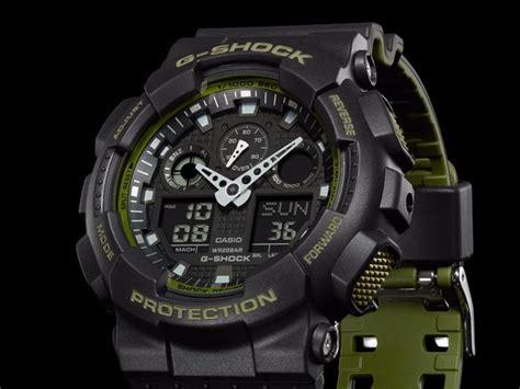 Casio G Shock Ga 100l 1a Original rel 243 gio g shock ga 100l 1adr original special color ga 100
