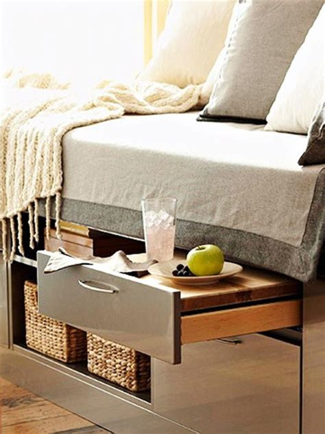 Under Bed Storage Ideas | more ideas on keeping things under the bed