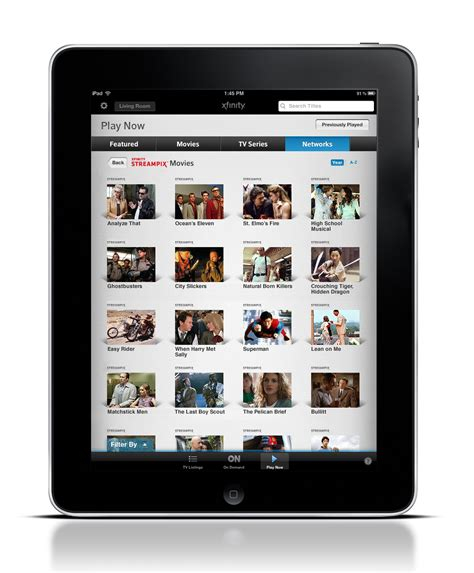 Film Streaming For Ipad | comcast unveils 4 99 per month streix service taking