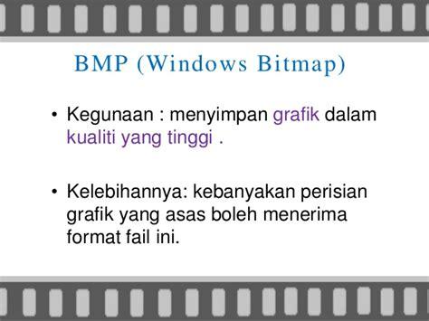 kegunaan gambar bitmap yang memiliki format berupa jpeg grafik dalam multimedia