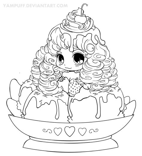 yuff food chibi coloring pages of sketch coloring page chibi foods coloring coloring pages